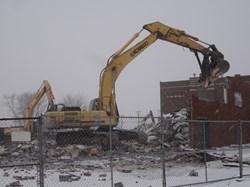"Demolition of the 'Old"" Springcreek building!"
