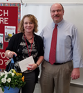 2017 - Terri Burkholder - Support Staff Employee of the Year for Springcreek Primary image