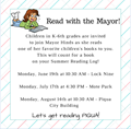 Read with the Mayor image