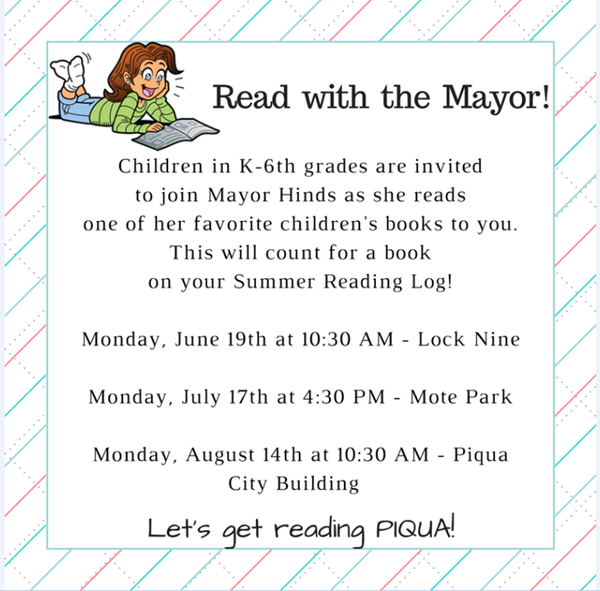 Read with the Mayor