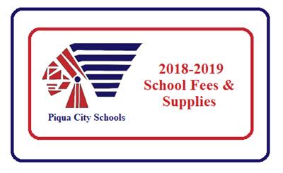 2018-2019 School Fees