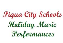 Holiday Music Performances