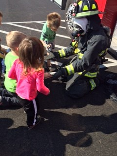 Visit from the Fire Department