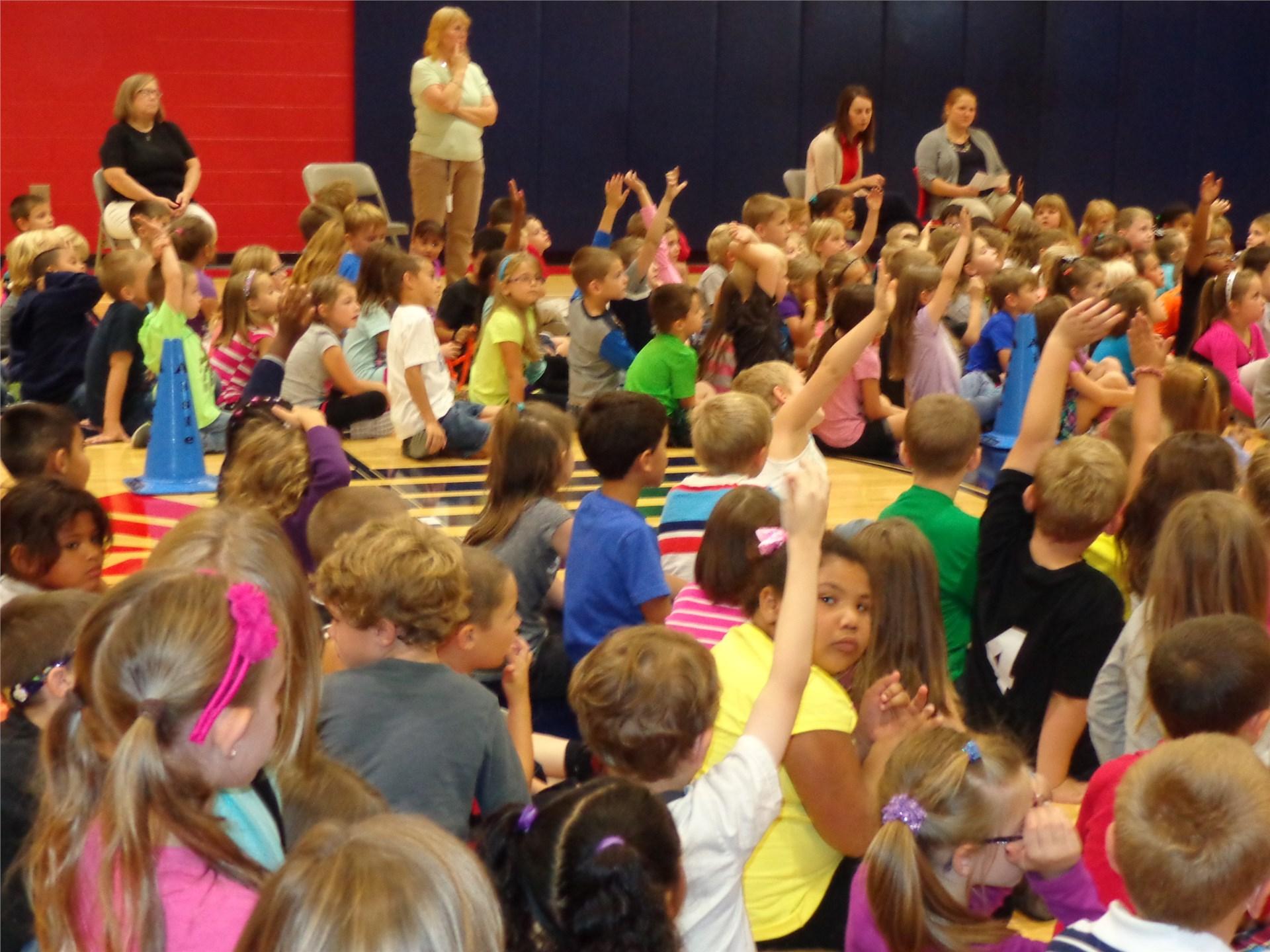 School assembly 2015