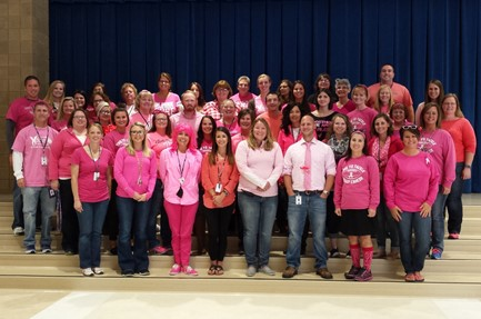 Central Staff Pink Out