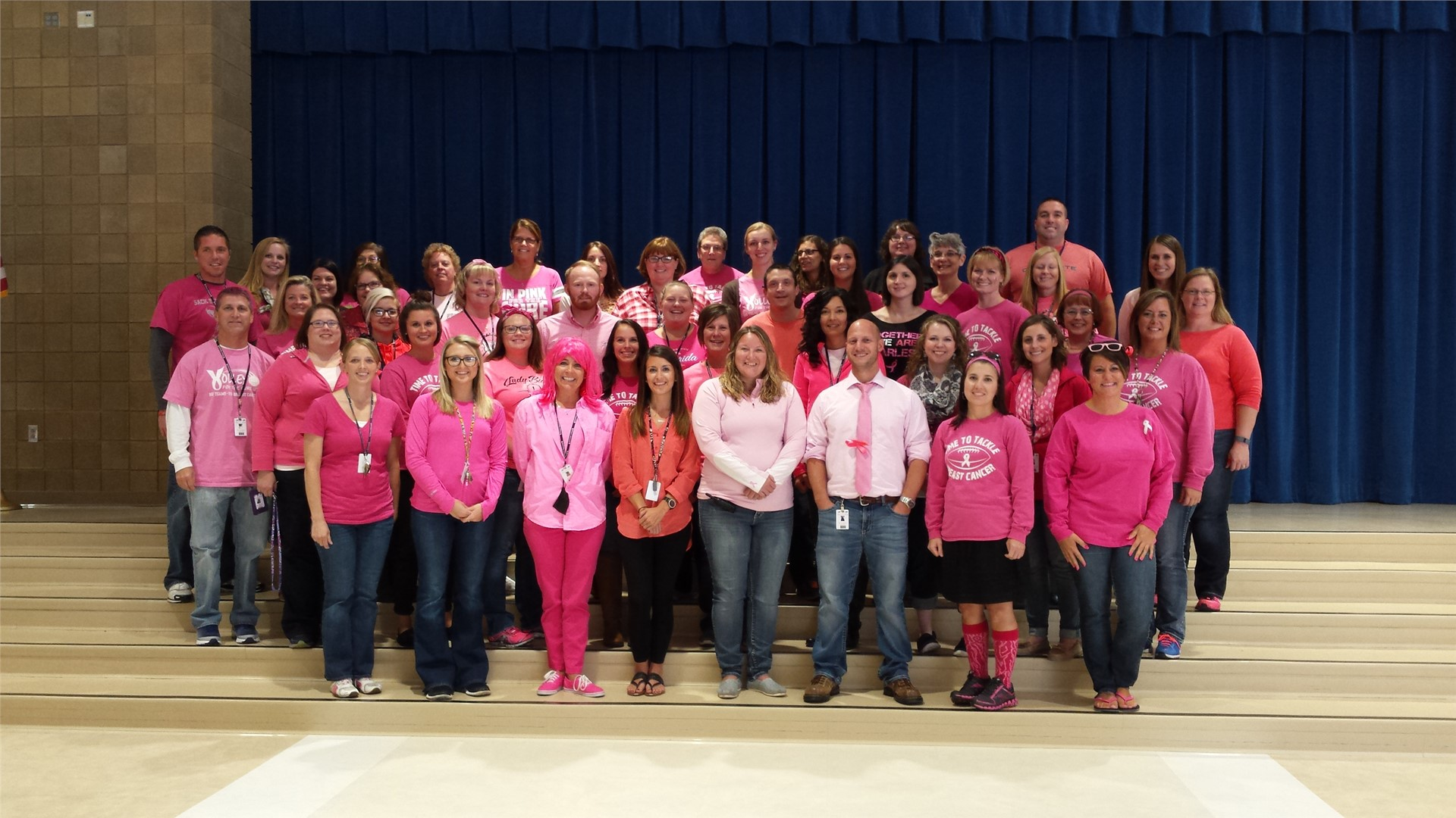 Wear pink for cancer support