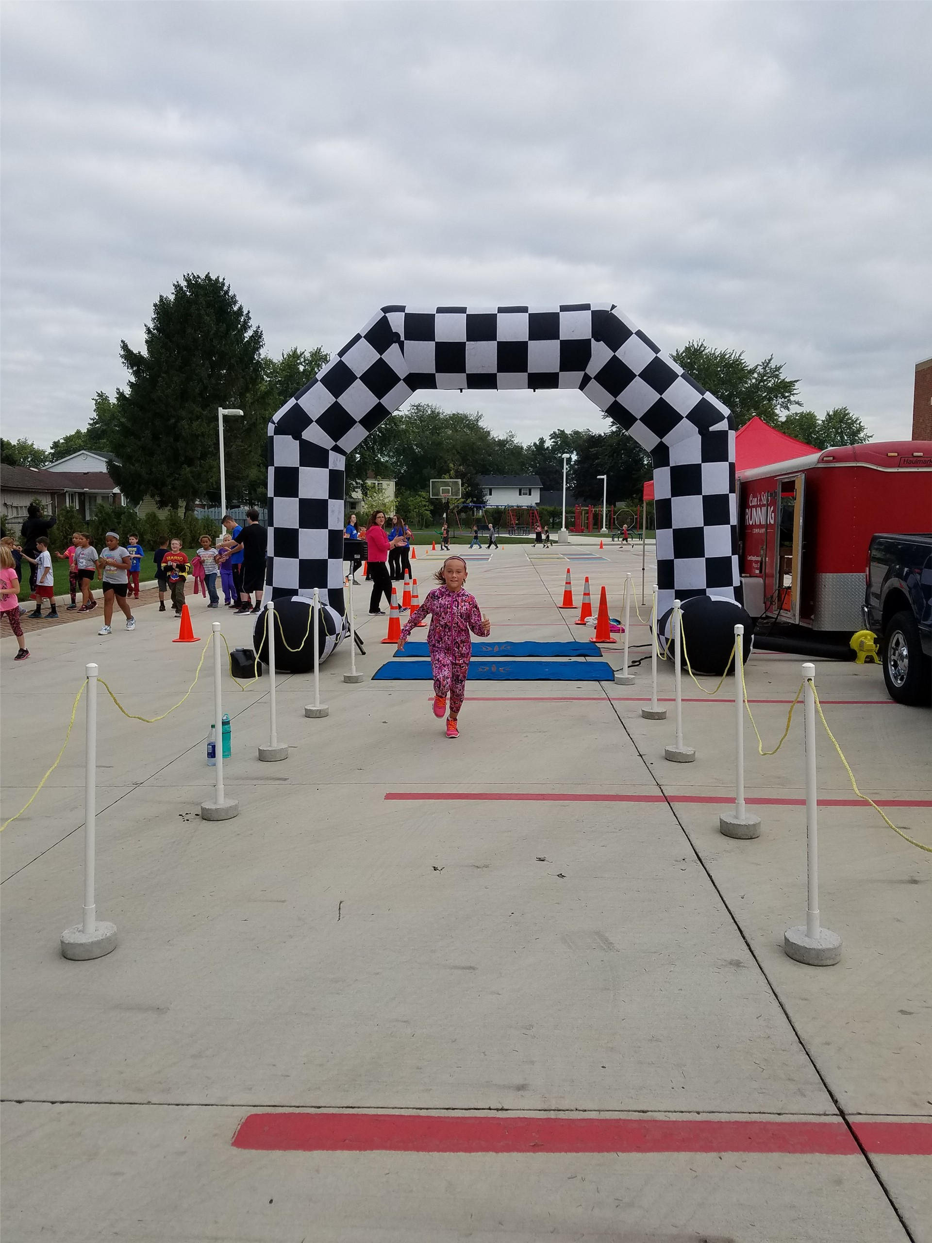 Primary running competition