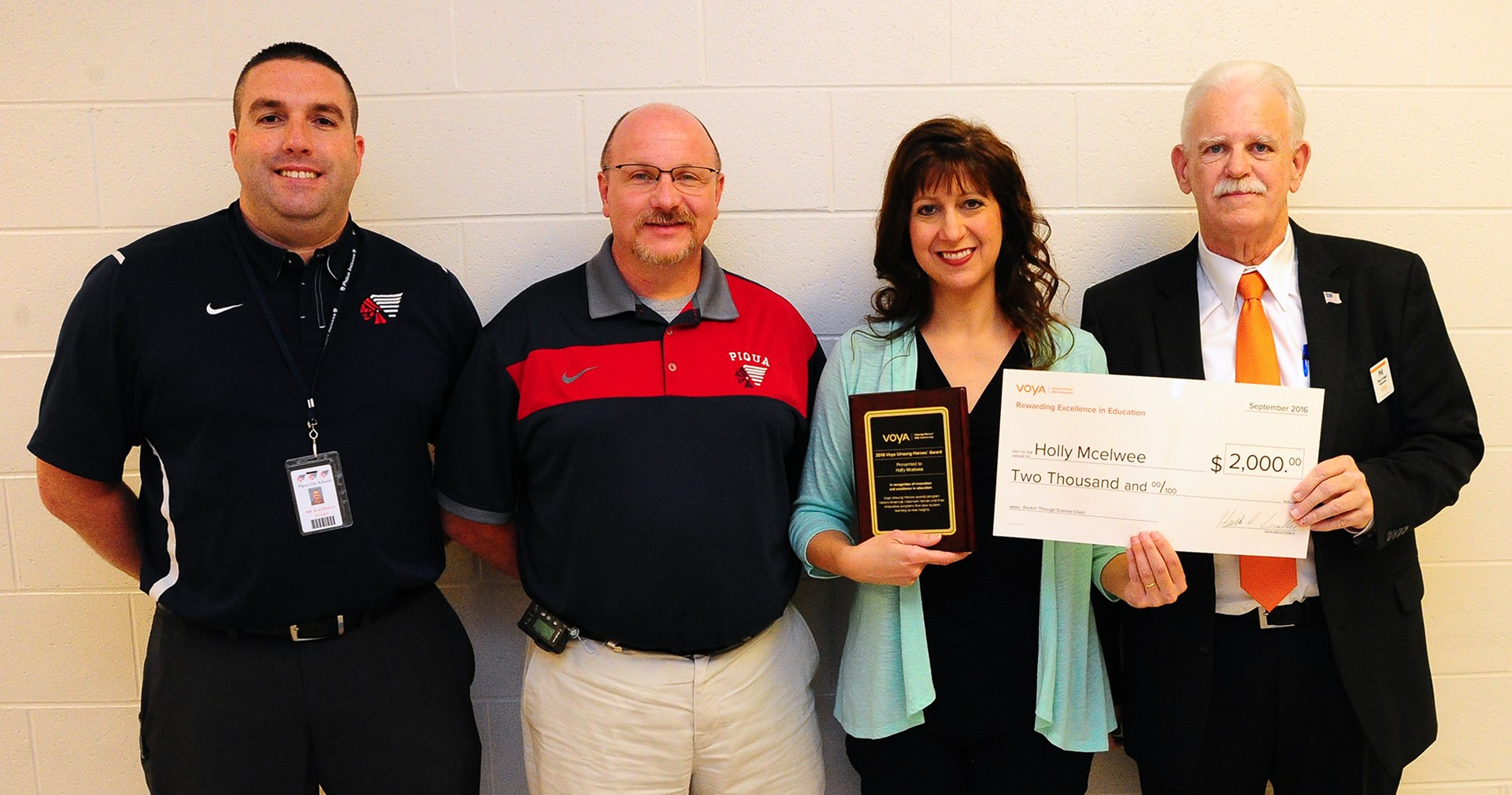 Mrs. McElwee receives National grant