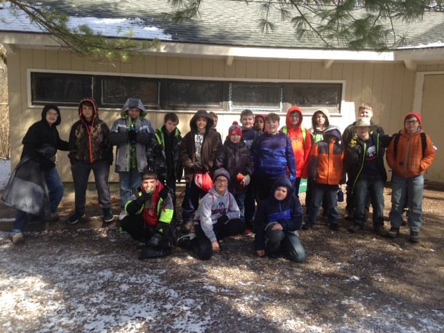 5th Graders at Glen Helen
