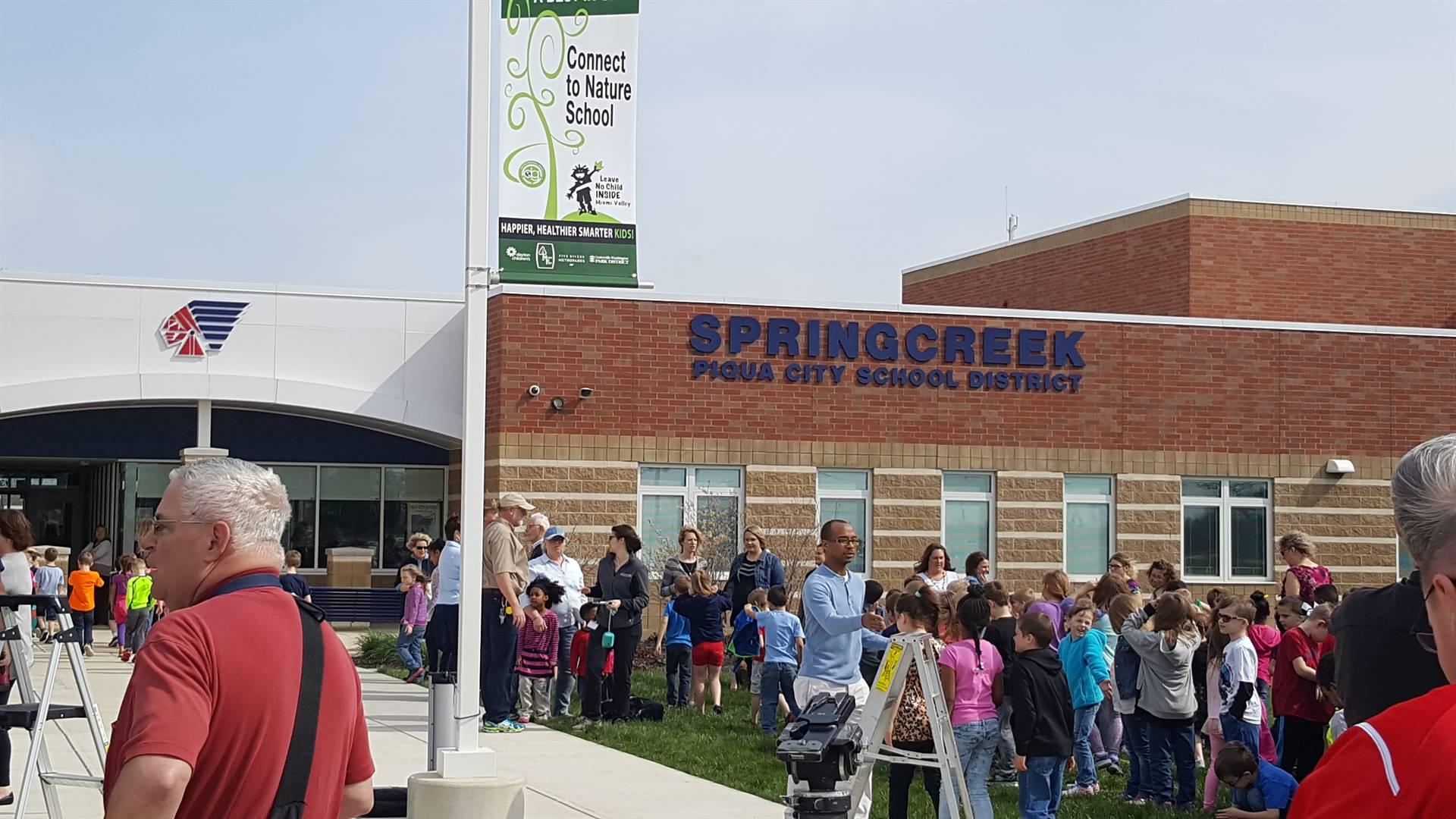Springcreek Awarded First No Child Left Inside Award