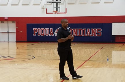 Maurice Clarett speaking to PCIS
