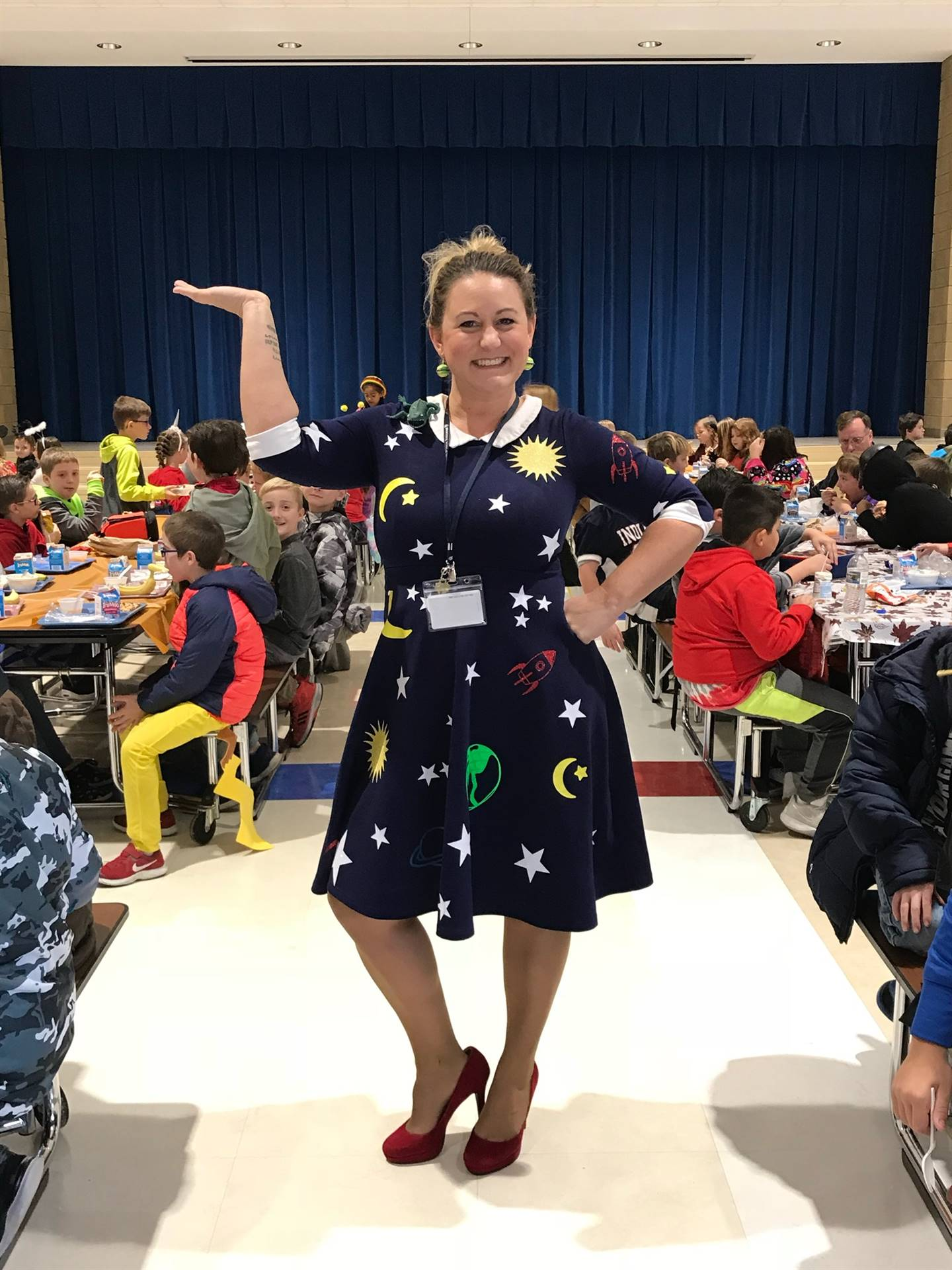 Mrs. Whiteman aka Miss Frizzle