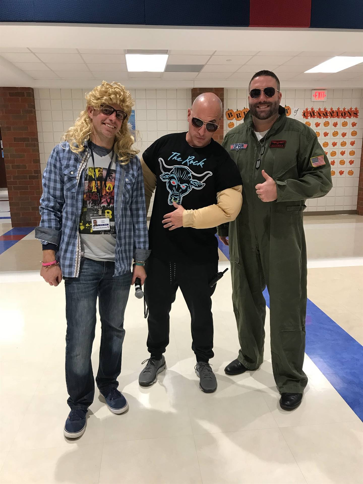 Garth, the Rock and Maverick