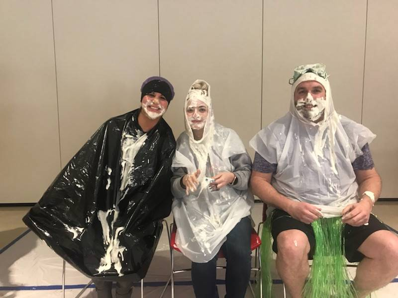5th grade teachers after being pied