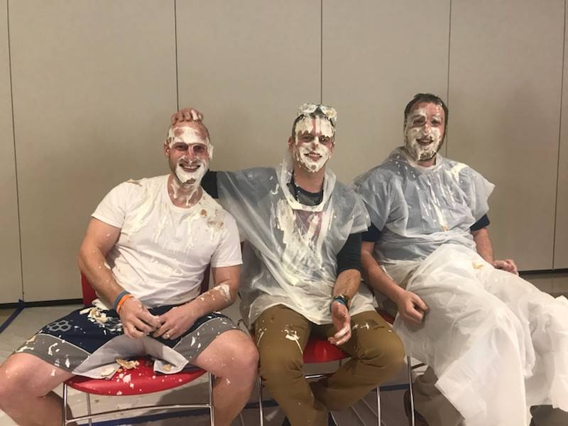 6th grade teachers after the pie