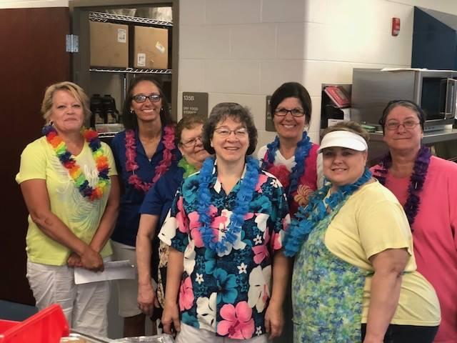 PCIS Kitchen Staff