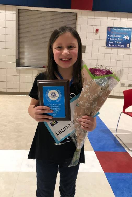 Picture of Spelling Bee winner