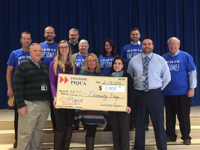 Awesome Piqua grant for Diversity Night