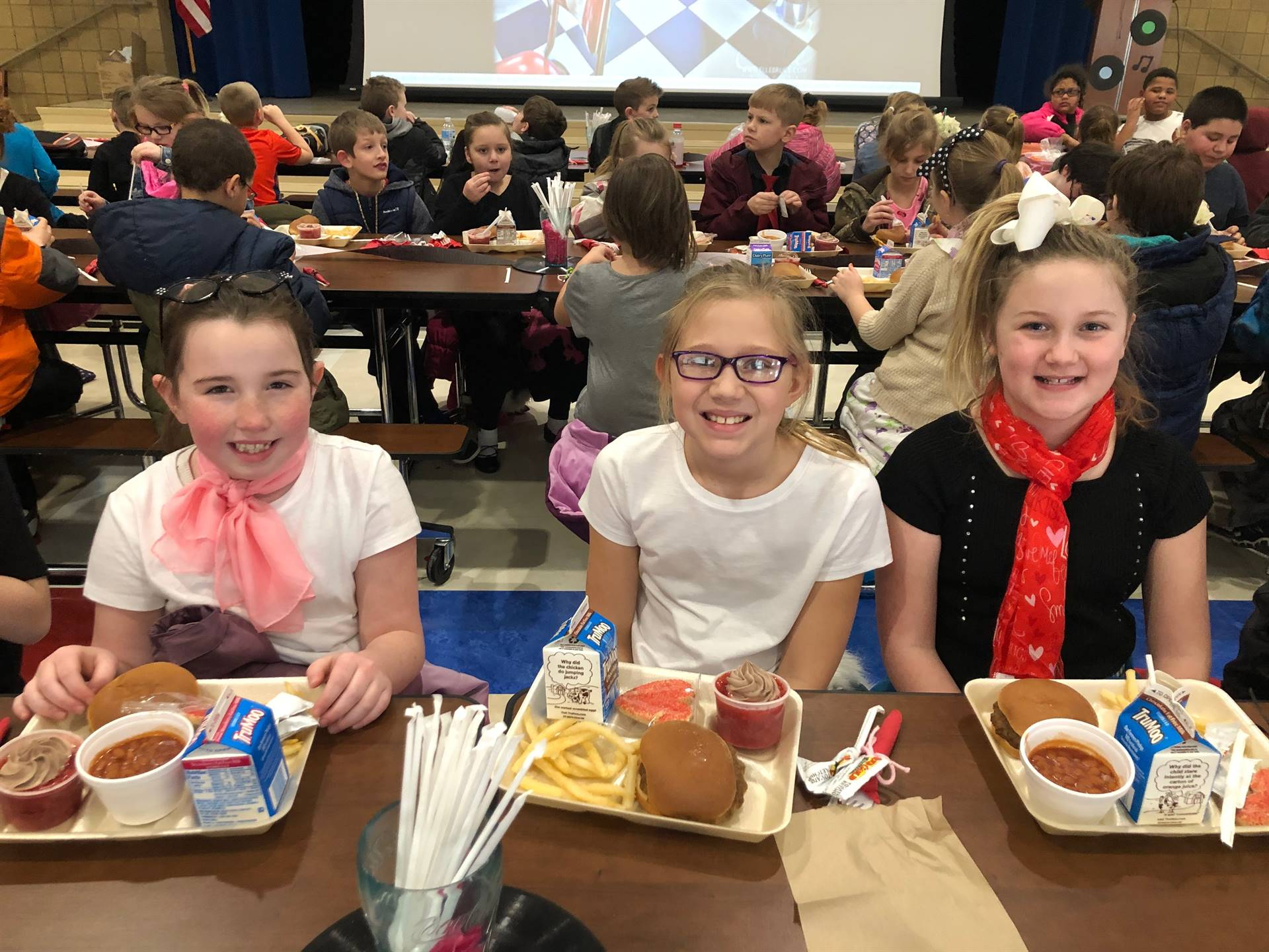 Sock Hop Lunch