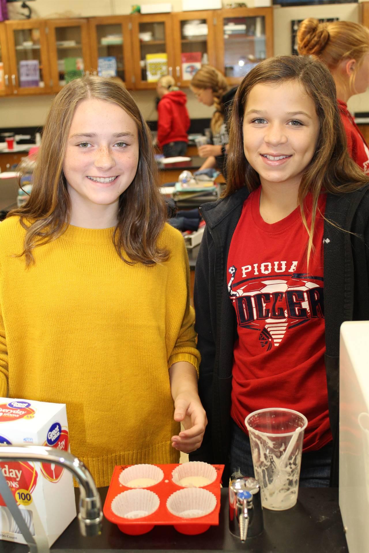 7th Grade Cupcake Lab