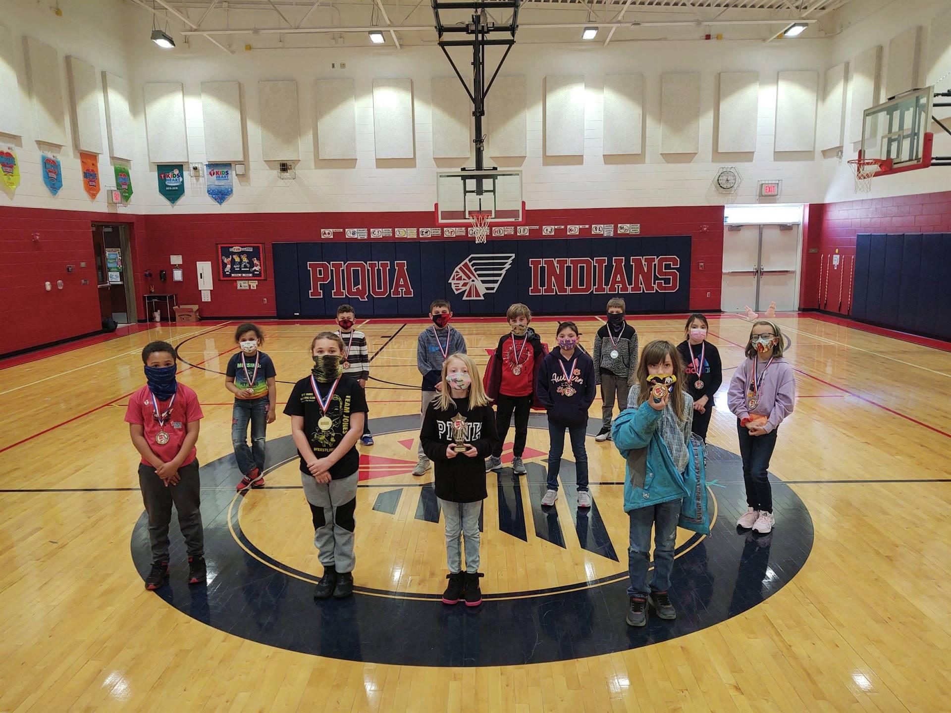 3rd Grade Jump Rope Winners